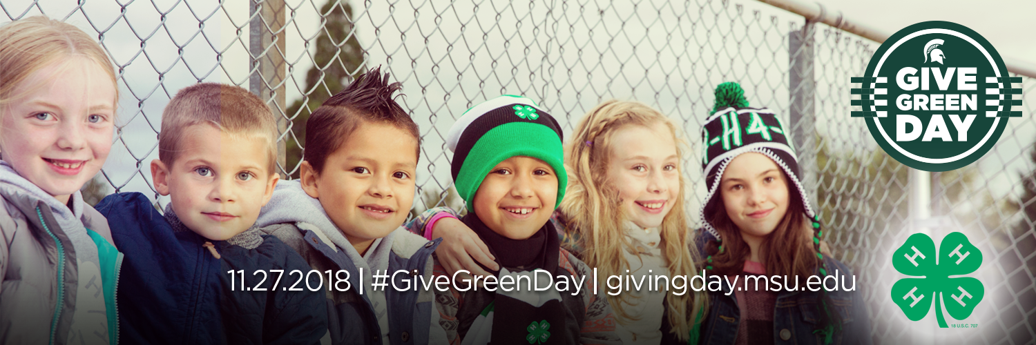 Give Green Day - 11.27.2018 - #GiveGreenDay - givingday.msu.edu