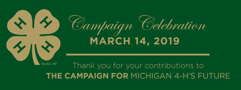 Campaign Celebration - March 14, 2019