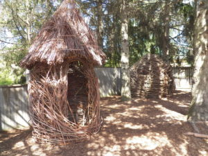4-H Children's Garden Willow Art Structures