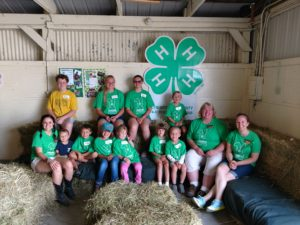Cheboygan County's Bouncing Bunnies 4-H Cloverbud Camp participants.