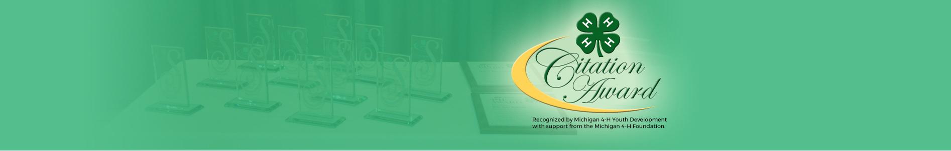 4-H Citation Award