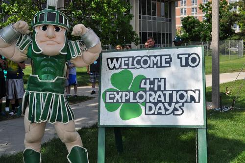 Welcome to 4-H Exploration Days