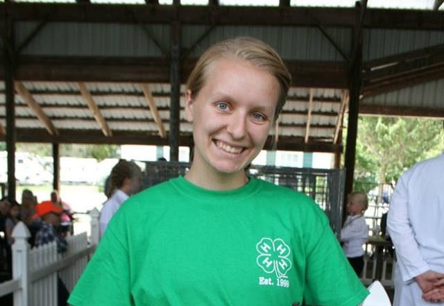 Grace Schmidt, Livingston County 4-Her
