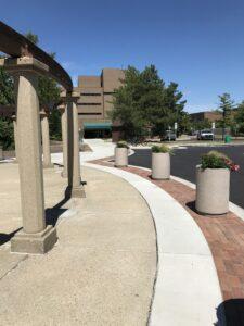Sidewalk at the 4-H Children's Garden