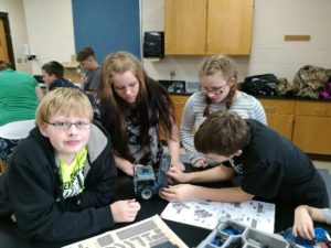 The 4-H After-School Robotics Club in Iosco County received a $1,000 Michigan 4-H Legacy Grant to use VEX Robotics as a tool to help members develop life skills, reduce risk factors and build assets.