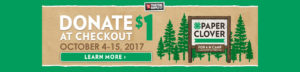 4-H Paper Clover - Visit your local Tractor Supply Co. store to donate $1 at checkout and support your local 4-H!