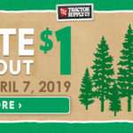 TSC Paper Clover - March 27-April 7, 2019 - Donate $1 at checkout