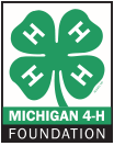 Michigan 4-H Foundation logo